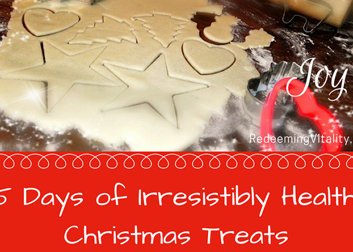 Five Days of Irresistibly Healthy Christmas Treats