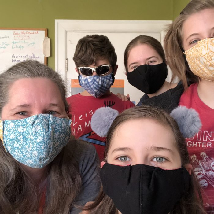 DIY Washable Protective Masks